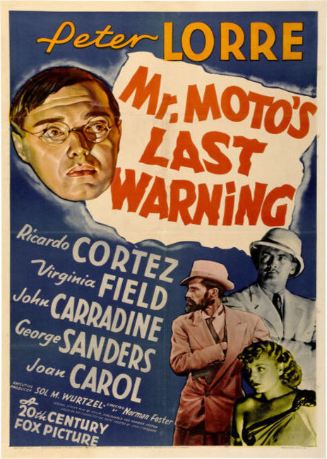 Mr Moto's Last Warning (1939)