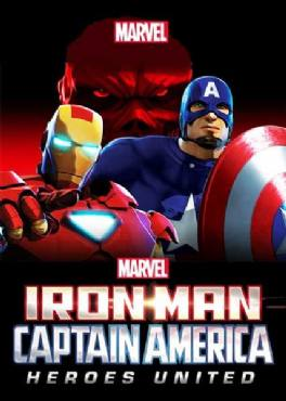 Iron Man and Captain America- Heroes United (2014)