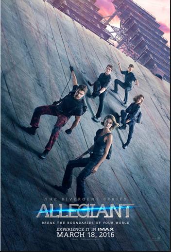 Divergent / Allegiant /  Η Τριλογία της Απόκλισης:Αφοσίωση (2016)