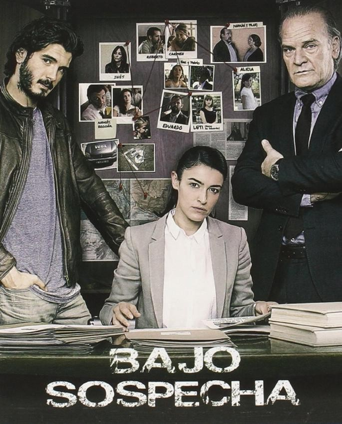 Bajo sospecha TV Series (2014–2016) 1,2η Σεζόν