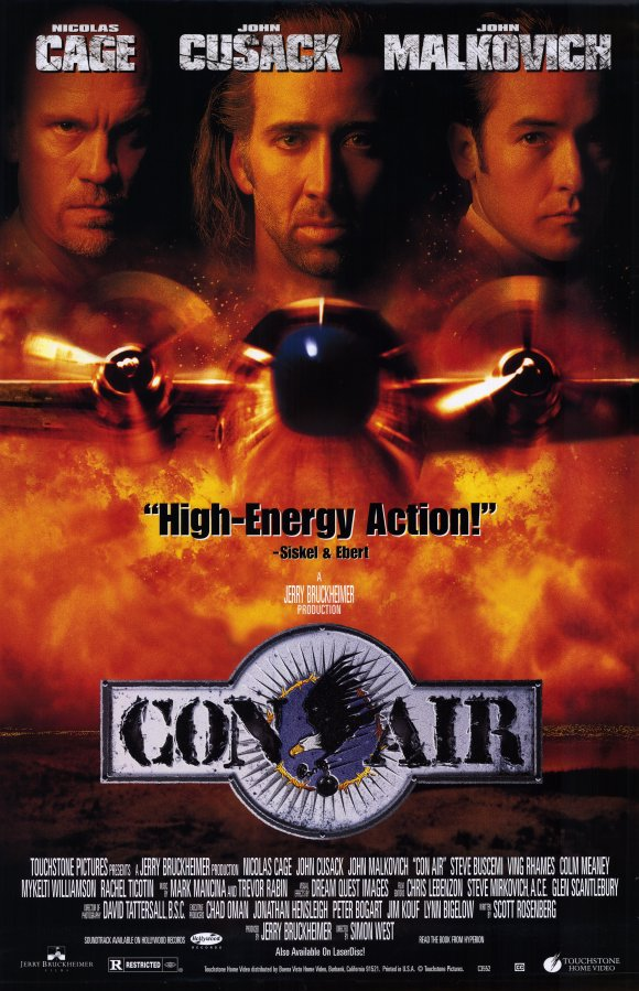 Con Air - Απόδραση στον Αέρα  (1997)
