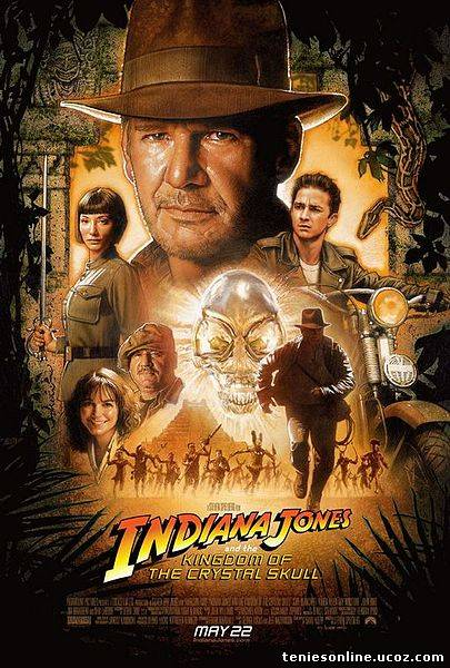 Indiana Jones and the Kindom of the crystal skull 2008
