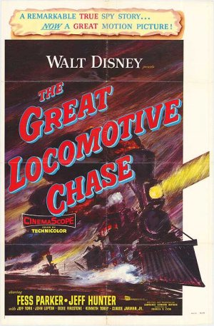 The Great Locomotive Chase (1956)