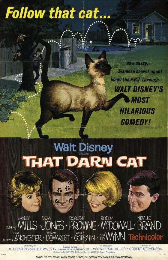 Κατάσκοπος με Βελούδινες Πατούσες / That Darn Cat! (1965)