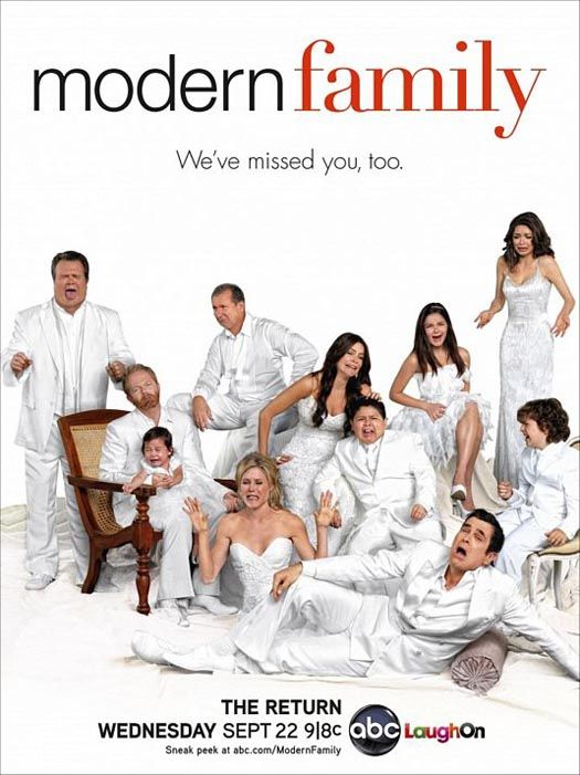 Modern Family (2009) 1,2,3,4ος Κύκλος