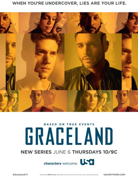 Graceland (2013-2015) 1,2,3ος Κύκλος
