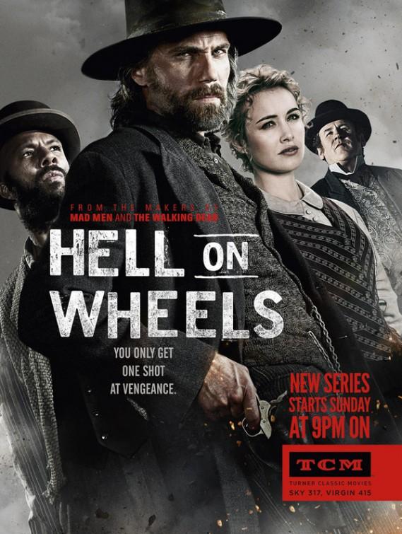 Hell on Wheels  (2011–2013 )  1,2,3ος Κύκλος