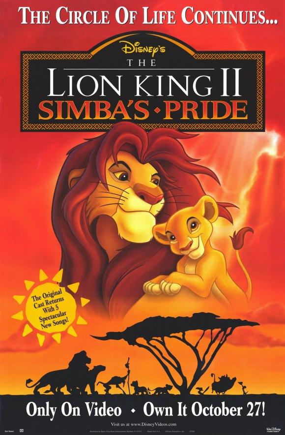 Ο Βασιλιάς των λιονταριών 2 / The Lion King II: Simba's Pride (1998)