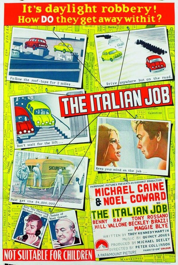 Ληστεία Αλά Ιταλικά / The Italian Job (1969)