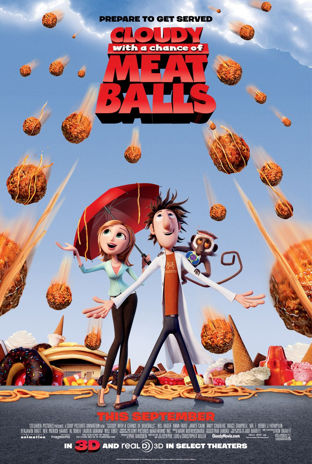 Βρέχει Κεφτέδες / Cloudy with a Chance of Meatballs (2009)
