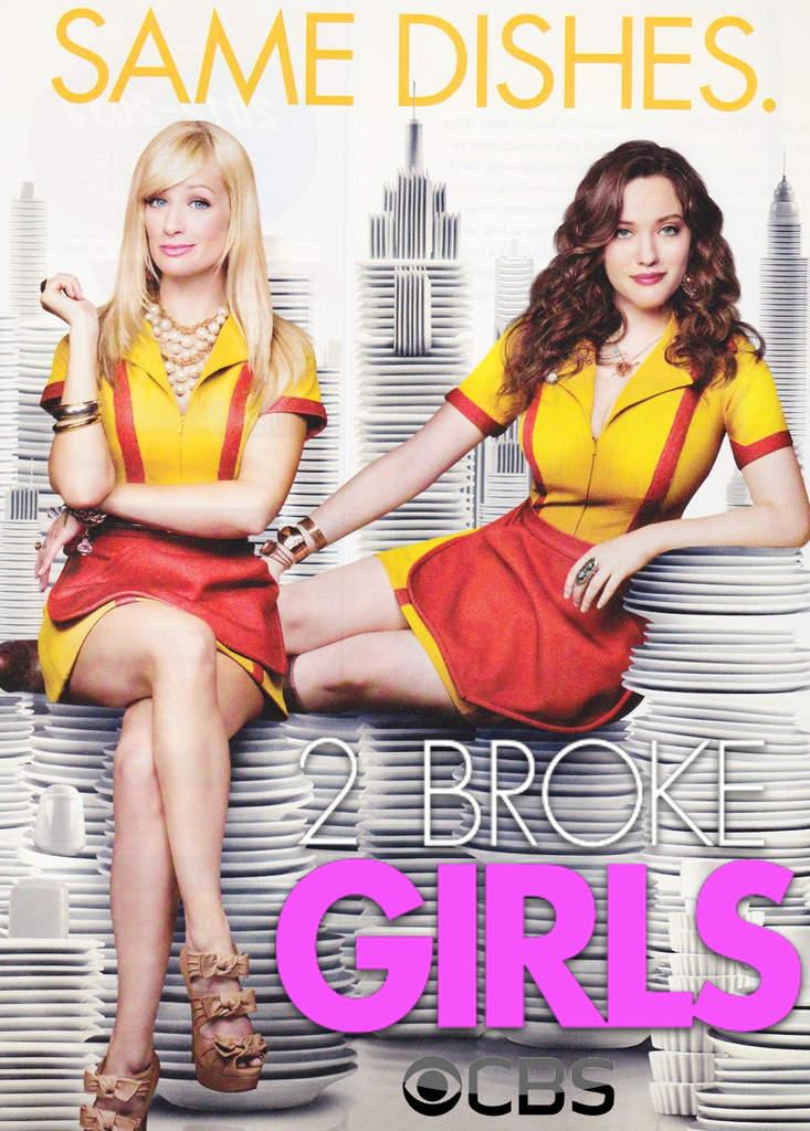 2 Broke Girls (2011-2013) 1,2,3ος Κύκλος