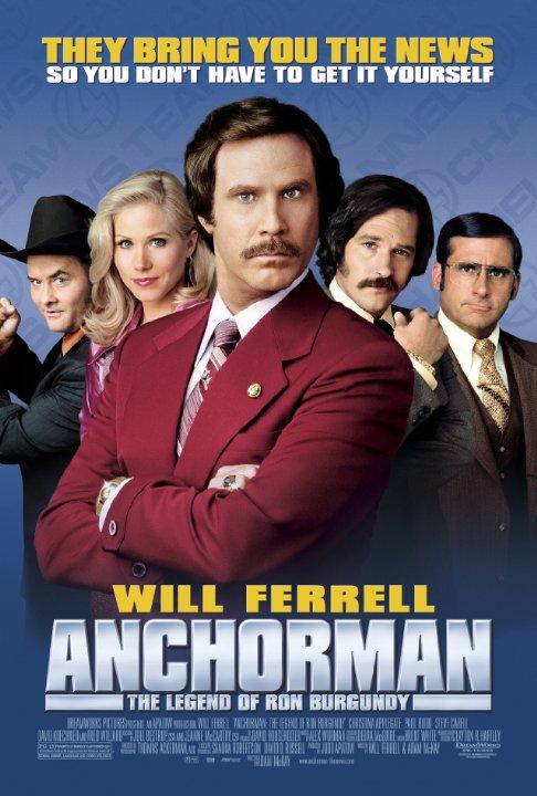 Ο Παρουσιαστής: Ο Θρύλος του Ron Burgundy / Anchorman: The Legend of Ron Burgundy (2004)