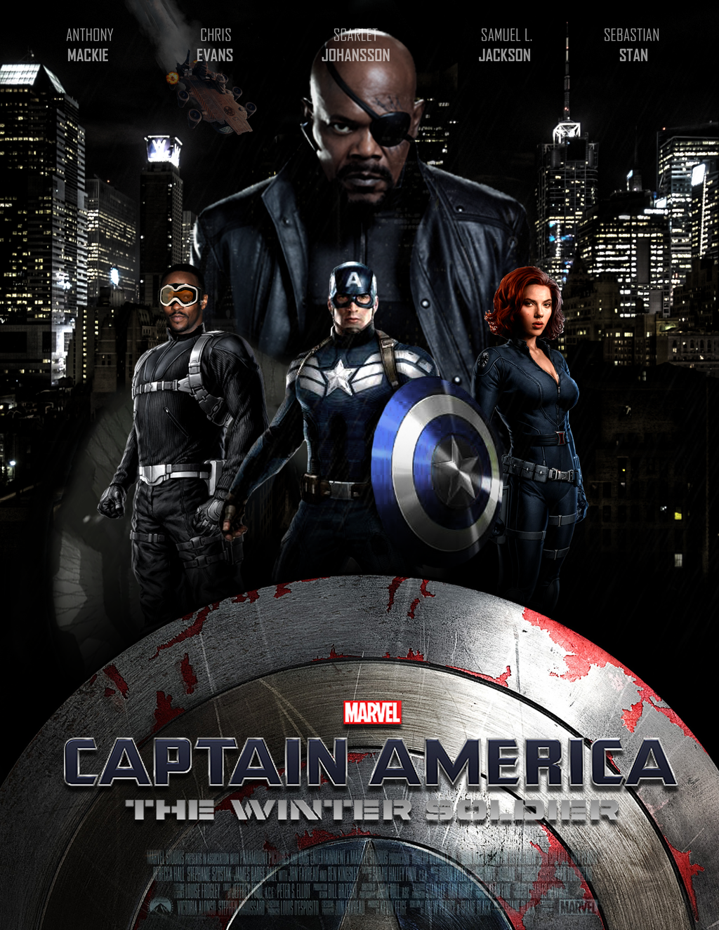 Captain America 2: Ο Στρατιώτης του Χειμώνα / Captain America: The Winter Soldier (2014)