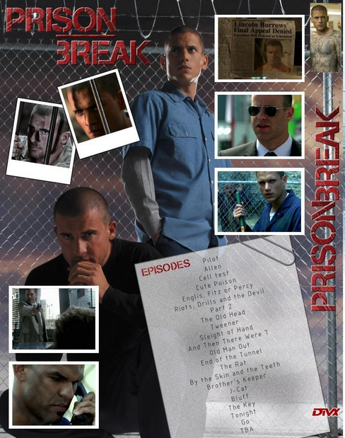 Prison Break (2005–2009) 1,2,3,4ος Κύκλος