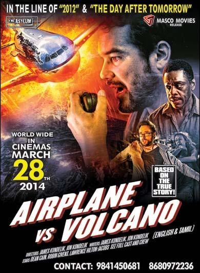 Airplane vs Volcano (2014)