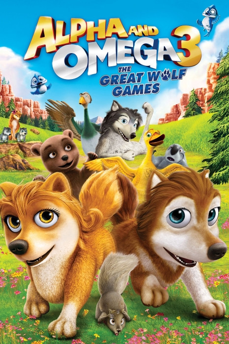 Alpha And Omega 3 The Great Wolf Games (2014)