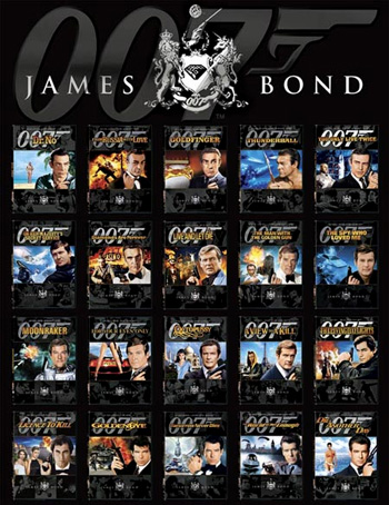 James Bond 007 Collection (1962 - 2012)