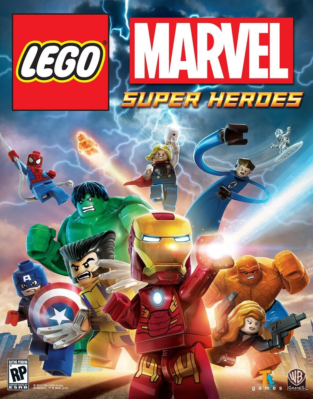 Lego Marvel Super Heroes Maximum Overload  (2013) Short