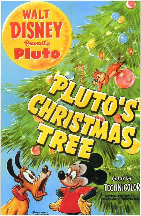 Pluto's Christmas Tree (1952) Short